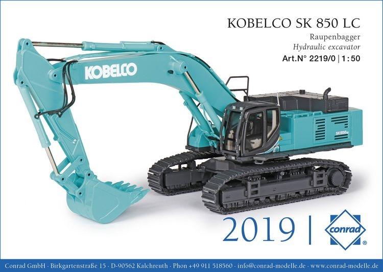 Kobelco SK850 LC Raupenbagger