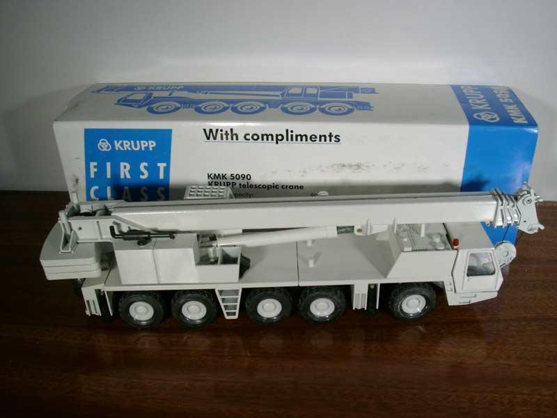 KRUPP KMK 5090  Teleskopkran