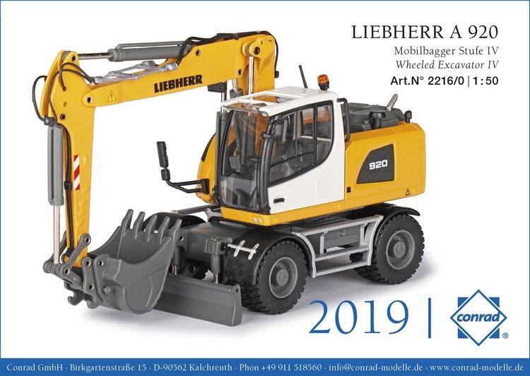 Liebherr A 920 Mobilbagger Stufe IV