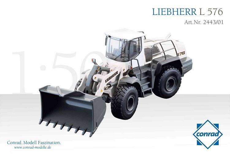 Liebherr L 576 weiss