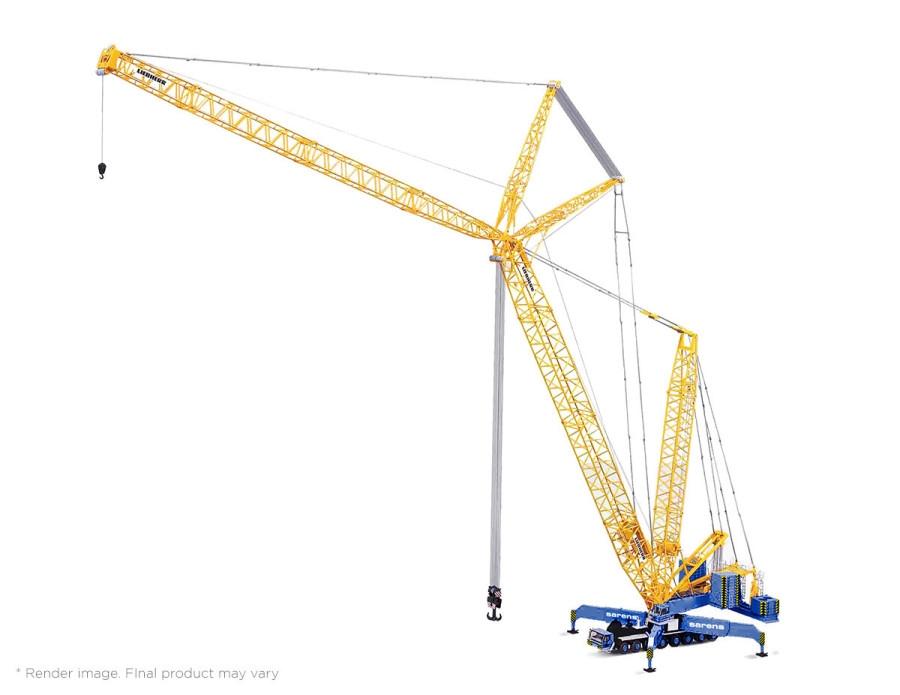 Liebherr LG 1750 lattice boom mobile crane Sarens
