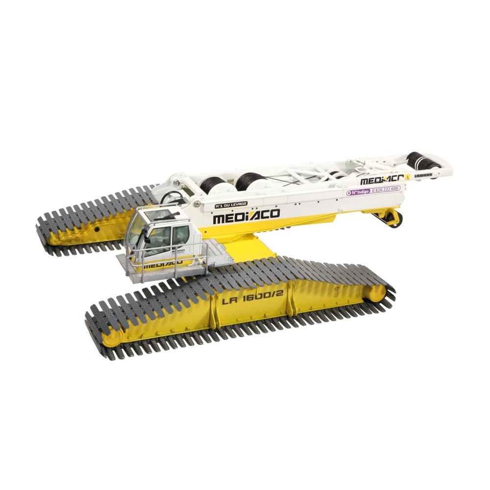 Liebherr LR 1600-2 + Derrick  Mediaco
