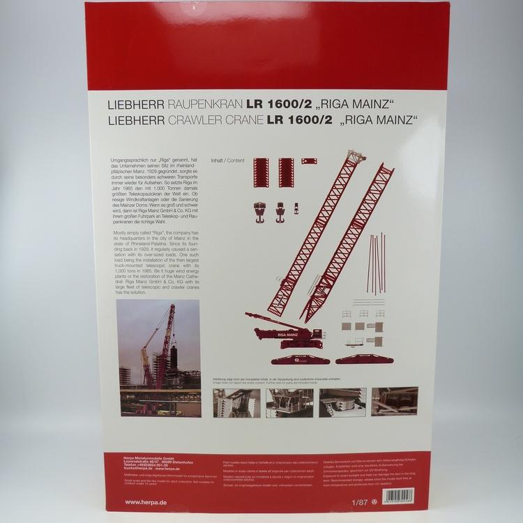 Liebherr LR 1600-2 Riga Mainz 1-78