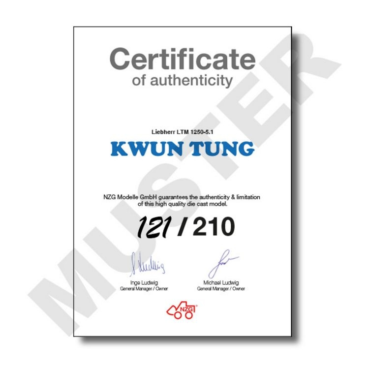 Liebherr LTM 1250 5.1 Mobilkran Kwun Tung