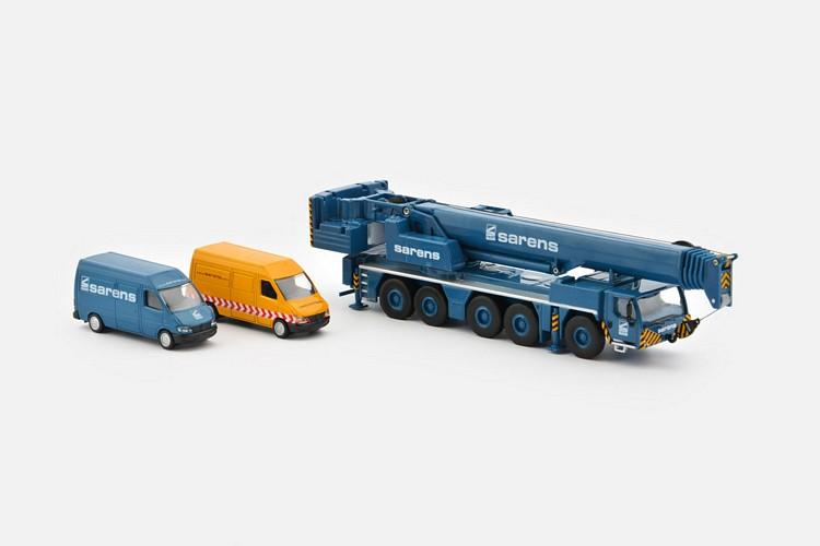 Liebherr LTM 1250-5-1 Sarens  Set