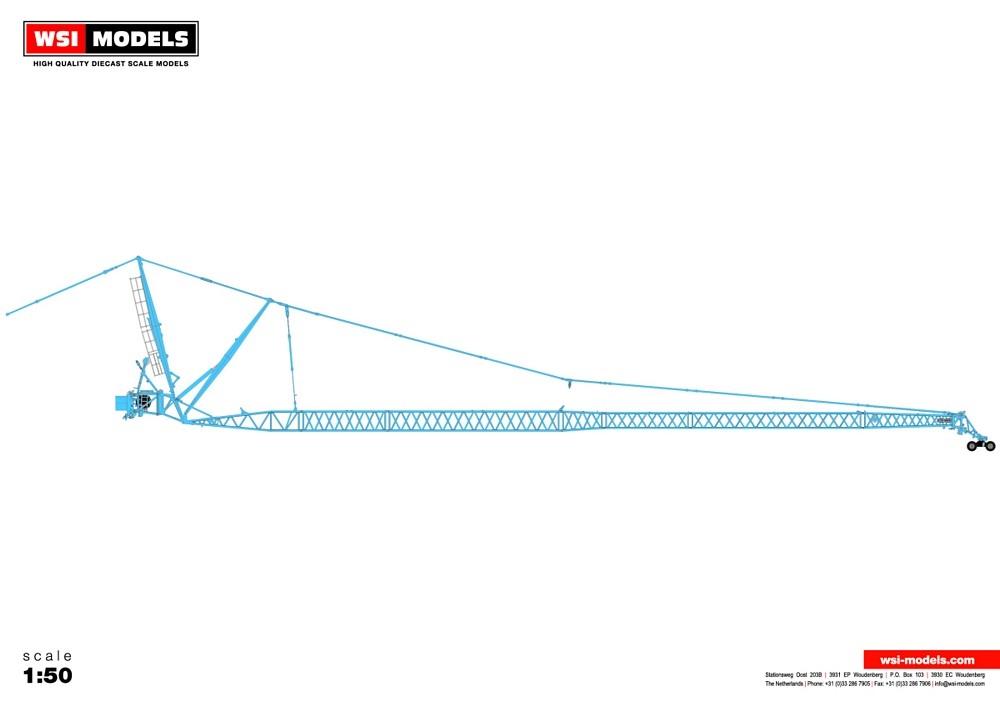 Liebherr LTM 1500 JIB blue  Premium Line