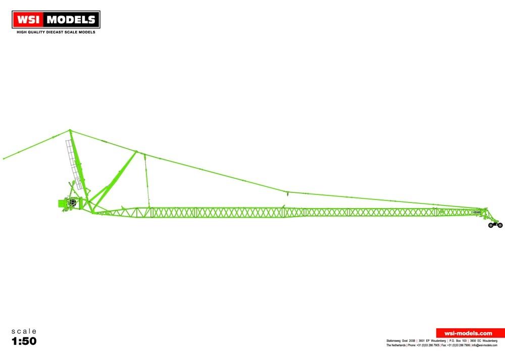 Liebherr LTM 1500 JIB green  Premium Line