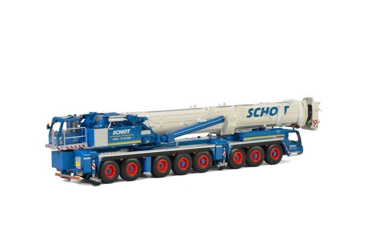 Liebherr LTM 1500 Schot Verticaal Transport