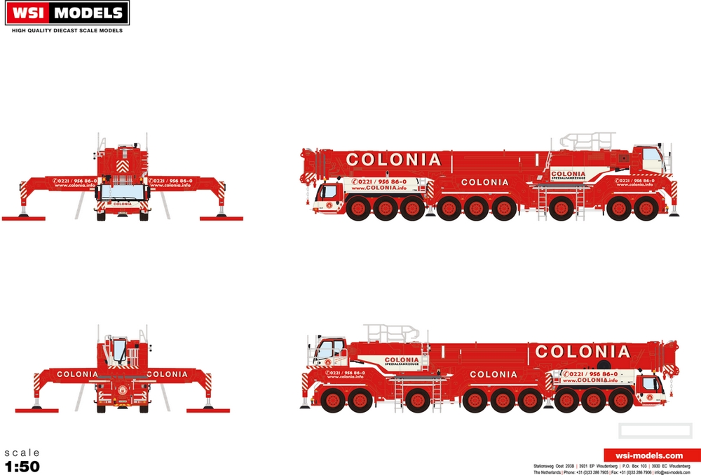 Liebherr LTM 1750 9.1  Colonia