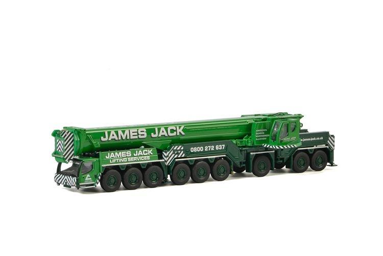 Liebherr LTM 1750 James Jack Lifting