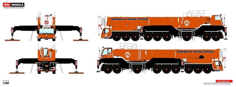 Liebherr LTM 1750 Johnson & Young Cranes