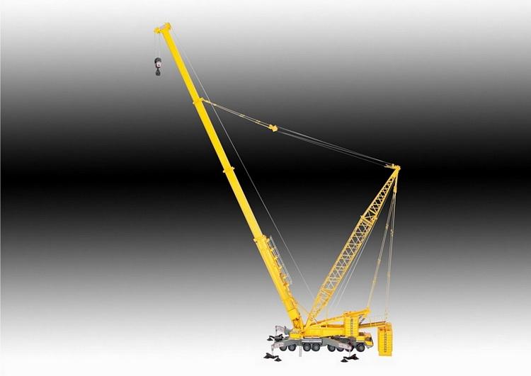 Liebherr LTM 1800  Derrick
