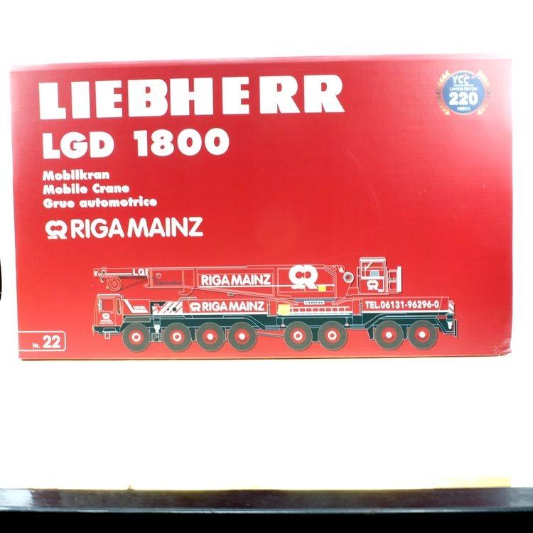 Liebherr LTM 1800 RIGA MAINZ