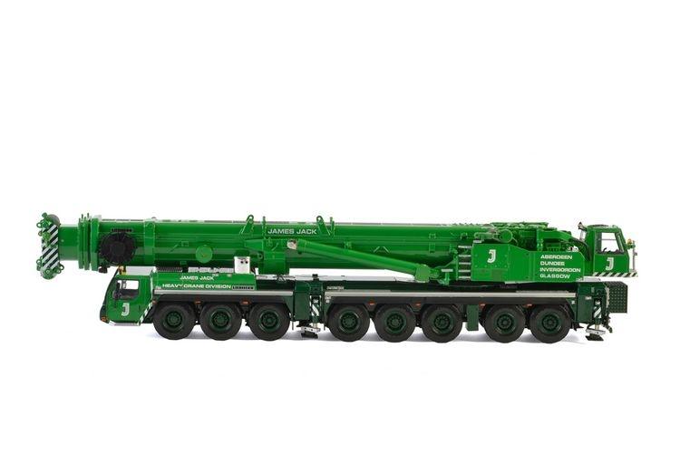 Liebherr LTM1500 8.1 James Jack Lifting