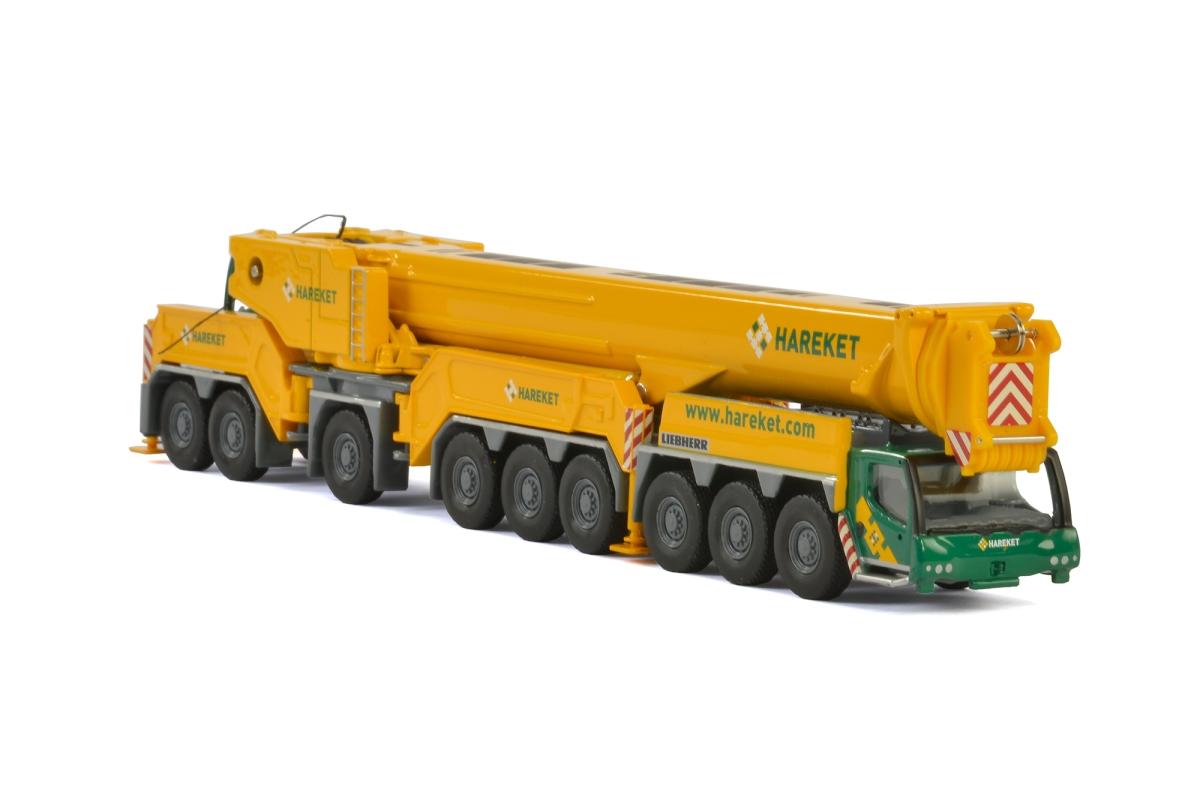 Liebherr LTM1750 9.1 Hareket