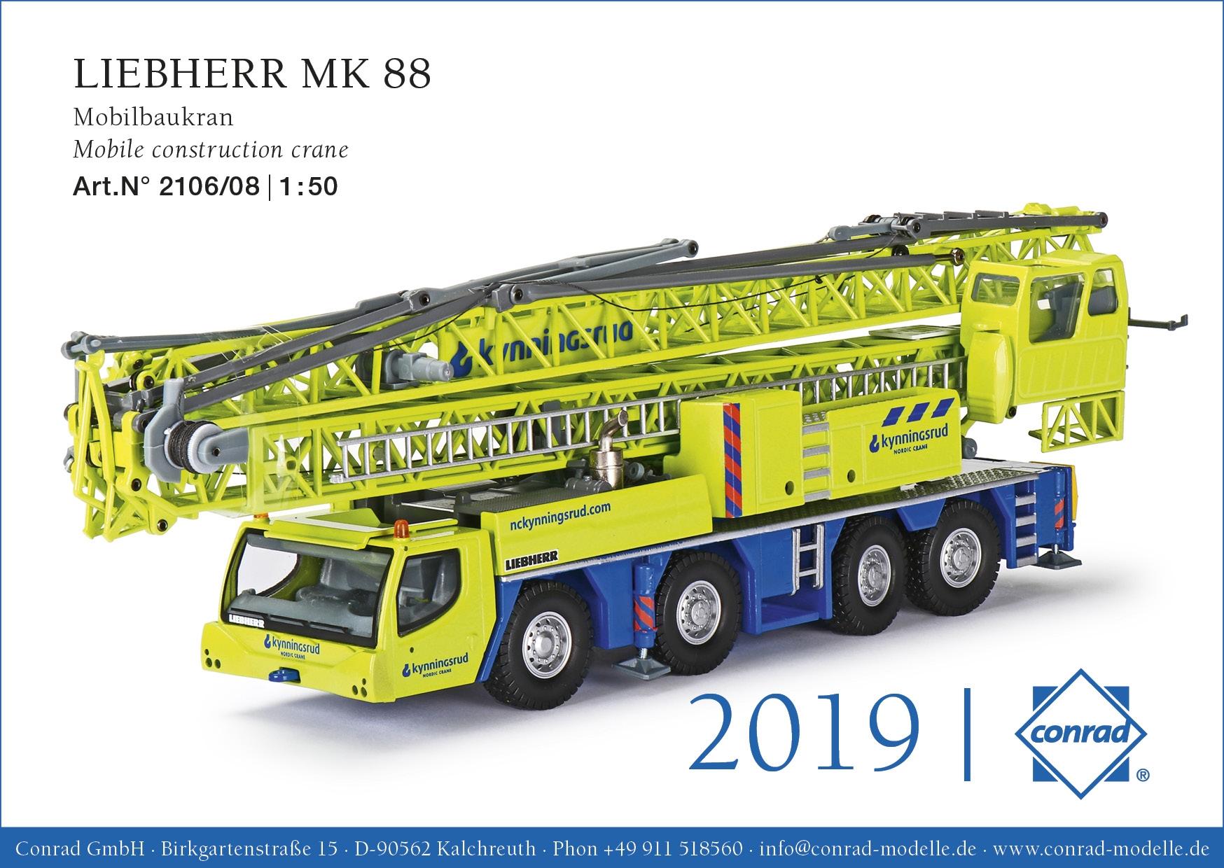Liebherr MK 88 Mobilbaukran