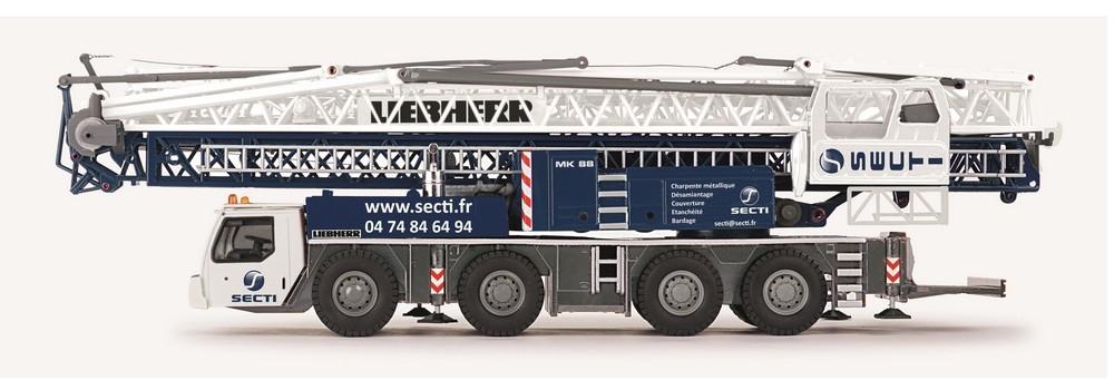 Liebherr MK 88 Mobilbaukran Secti