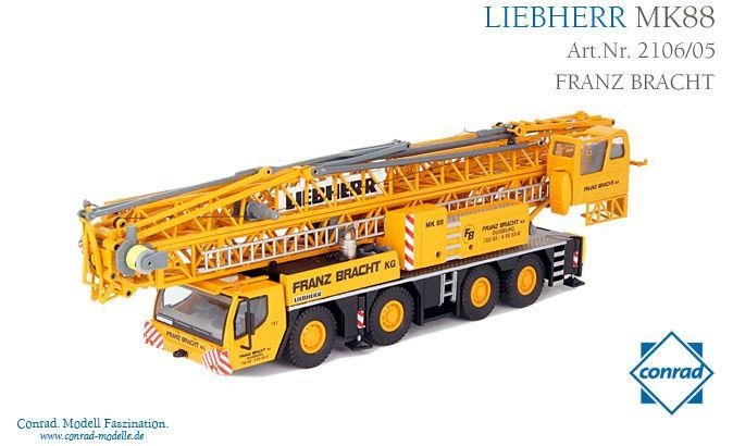 Liebherr MK88 Mobilbaukran Bracht