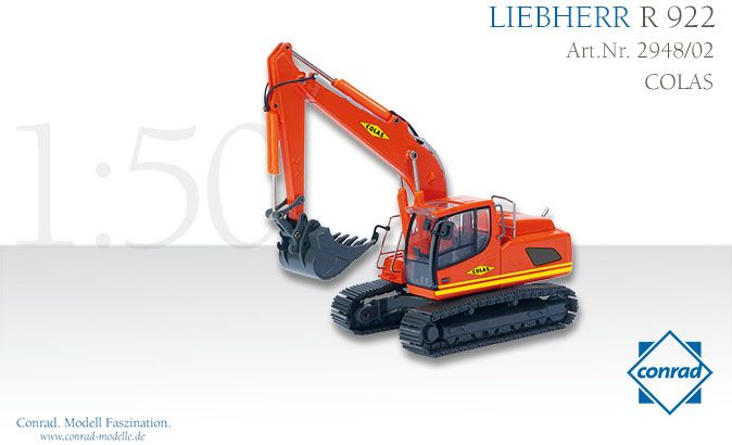 Liebherr R 922 Raupenbagger Colas