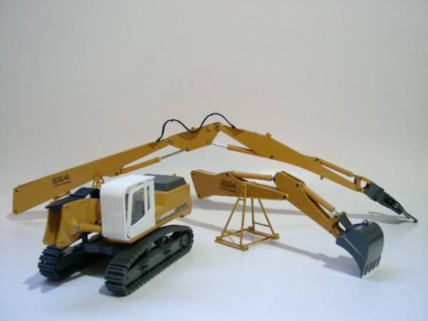 Conrad Liebherr R 954 C Pelle hydraulique avec culture Pièces Nouveau neuf dans sa boîte exclusivement