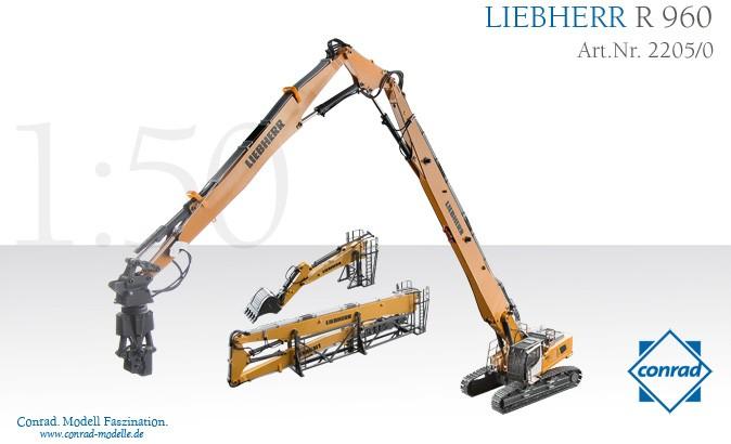 Liebherr R 960 Demoliton