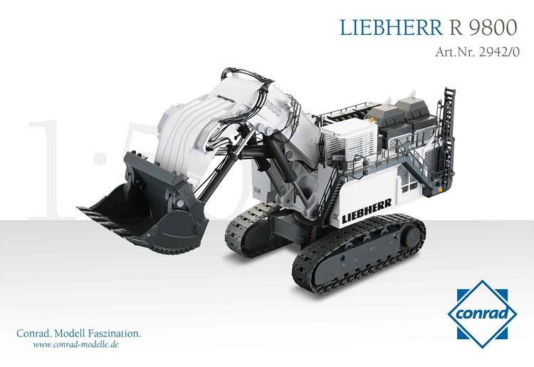 Liebherr R 9800 Hochlöffel Miningbagger