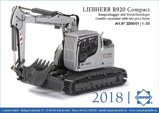 Liebherr R920 Compact Raupenbagger  Woermann