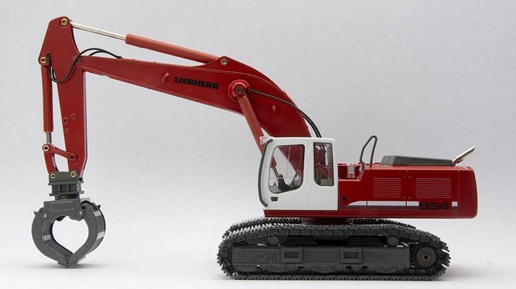 Liebherr R954C  red edition