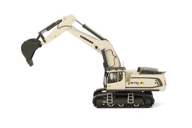 Liebherr R970 SME Excavator white