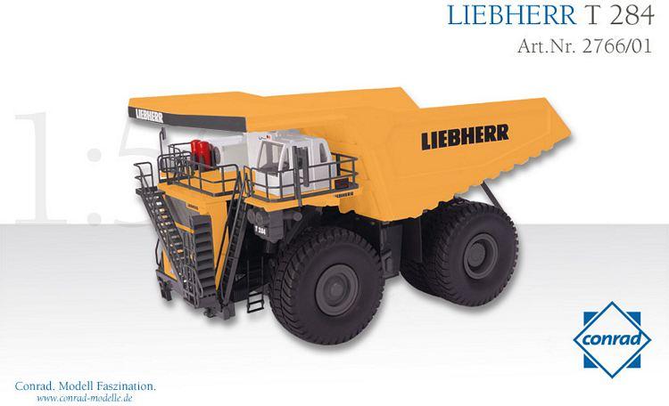 Liebherr T 284 Muldenkipper gelb