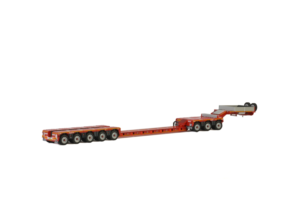 Lowloader 5 axle Dolly  3 axle KNT Red Line