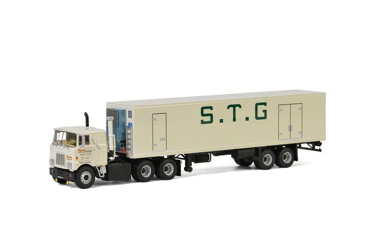 Mack F700 6X4 Reefer Trailer Classic 2 axle STG Autier