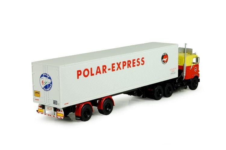 Mack F700 classic rib trailer Habermacher Polar Express