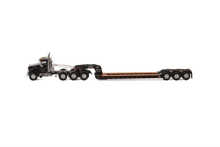 MACK Granite 8x4 Lowboy 3 axle USA Basic Line black