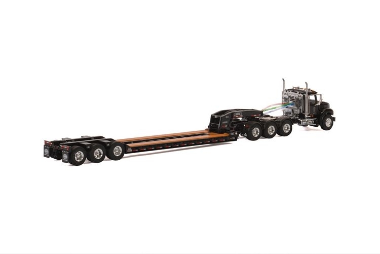 MACK Granite 8x4 Lowboy 3 axle USA Basic Line black
