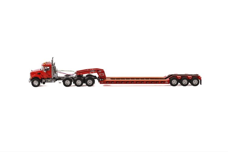 MACK Granite 8x4 Lowboy 3 axle USA Basic Line gray