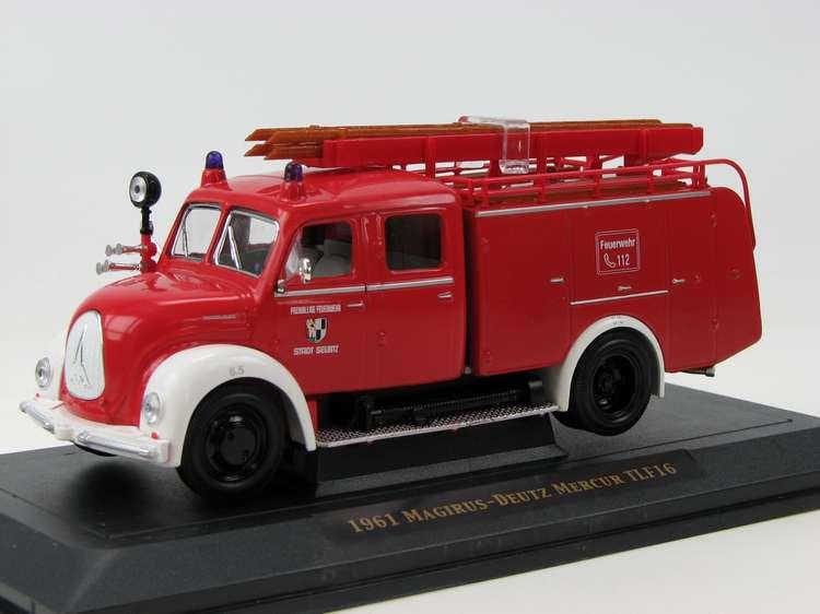 Magirus-Deutz Mercur TLF16 Feuerwehr Stadt Seibitz 1961