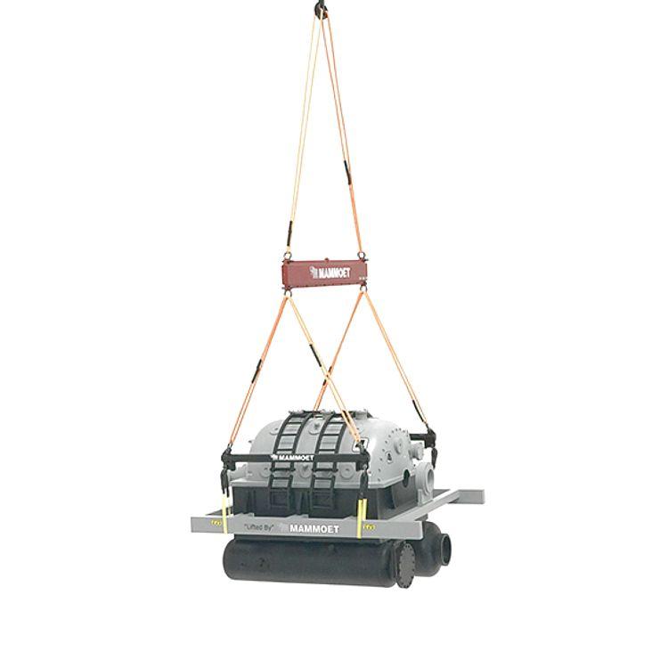 Mammoet generator load set
