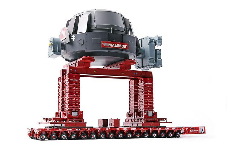 Mammoet Scheuerle SPMT Converter Load