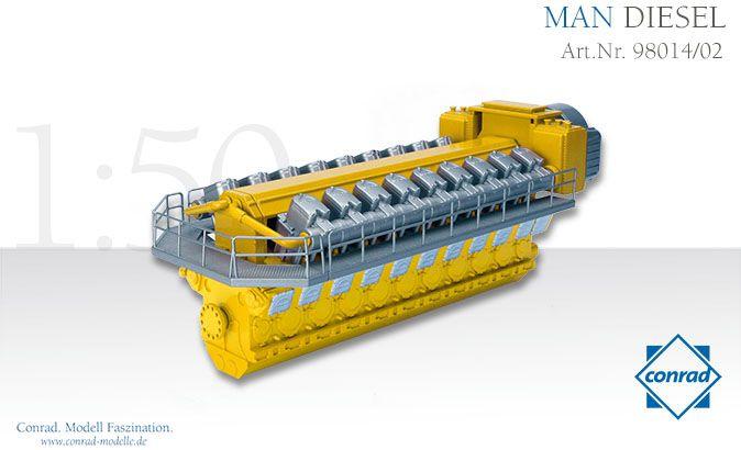 MAN Diesel Motor Typ 48/60N 18 Zylinder