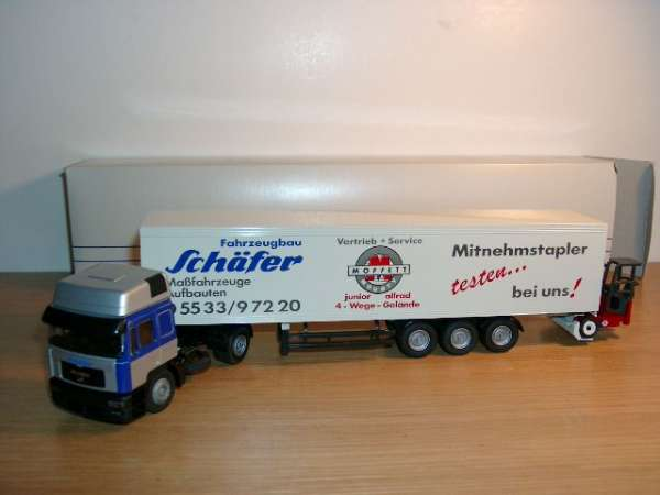 MAN E2000 Sattelzug Fahrzeugbau Schäfer