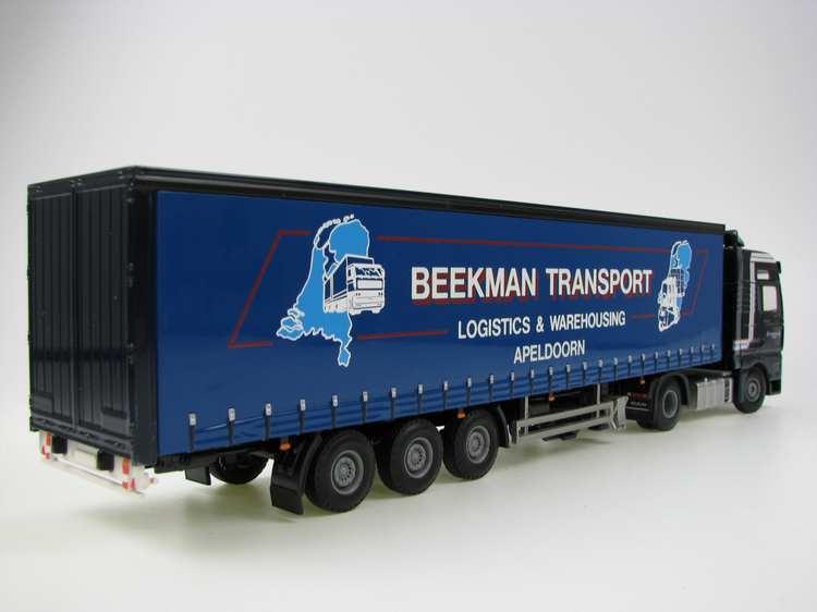 MAN TGA XXL Curtenside trailer Beekman