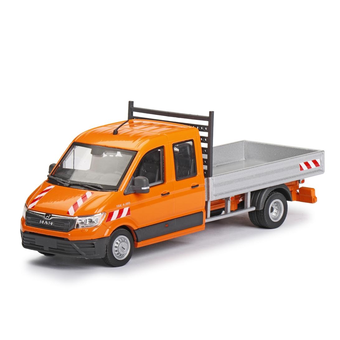 MAN TGE 4.180 Doka Transporter Pritsche