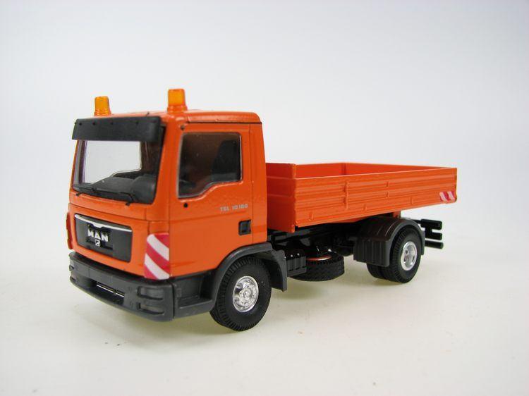 MAN TGL Kipper orange