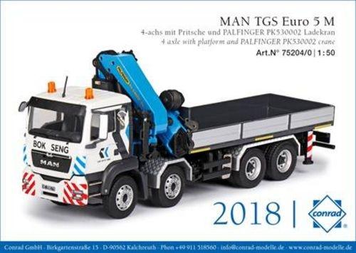 MAN TGS Euro 5 M  Palfinger PK530002  BOK SENG