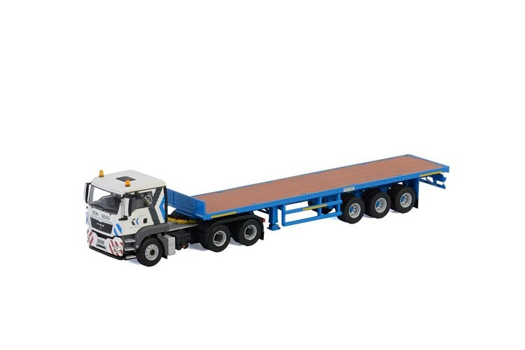 MAN TGS L Flat Bed Trailer  Bok Seng