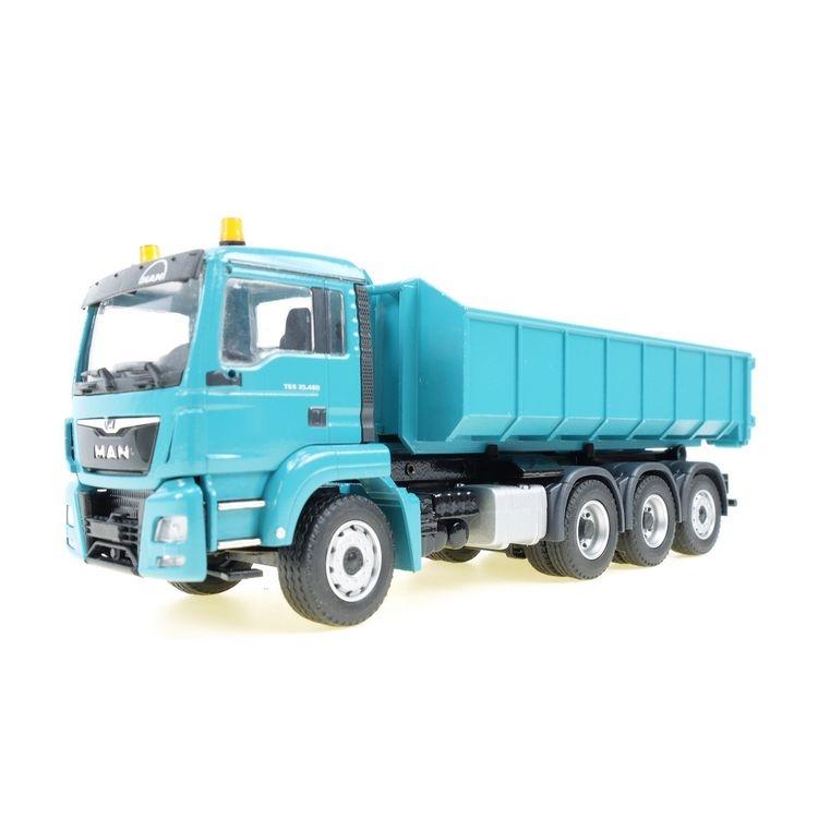 MAN TGS M  Euro 6 26.440  Meiller Abrollkipper blau