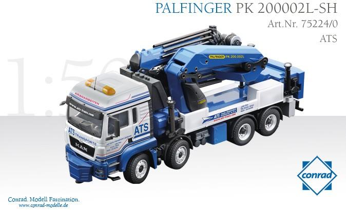 MAN TGS Palfinger PK200002L  ATS