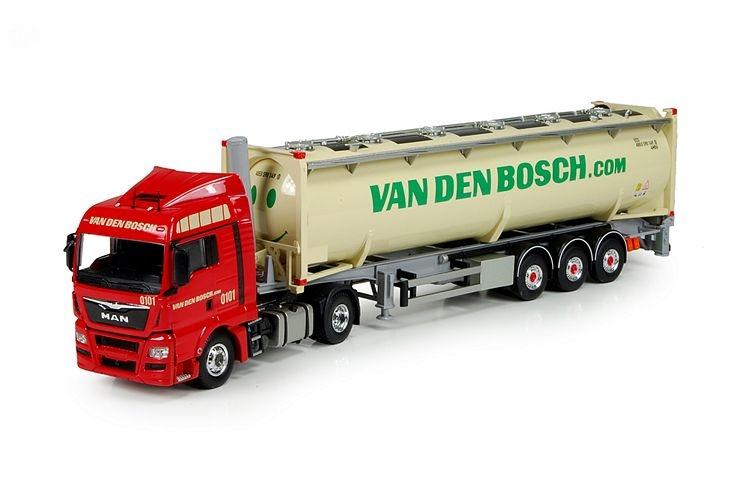 MAN TGX Euro 6 XLX  40ft Tankcontainer Bosch van den