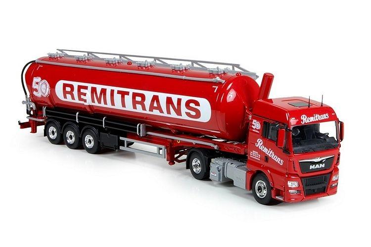 MAN TGX Euro 6 XLX Silo Auflieger Remitrans